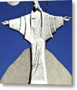 Abstract Lutheran Cross 5 Metal Print