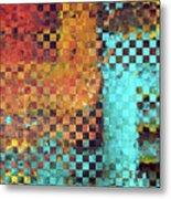 Abstract Modern Art - Pieces 1 - Sharon Cummings Metal Print