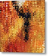 Abstract Modern Art - Pieces 8 - Sharon Cummings Metal Print