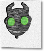 Abstract Monster Cut-out Series - Ferko Metal Print