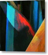 Abstract No. Twenty Four Metal Print
