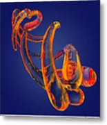Abstract Number 13 Metal Print
