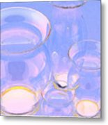 Abstract Number 18 Metal Print
