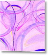 Abstract Number 20 Metal Print