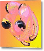 Abstract Number 5 Metal Print