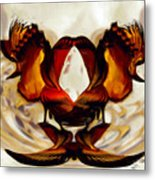 Abstract Number Five Metal Print