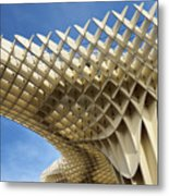 Abstract Of Metropol Parasol Pod At Plaza Of The Incarnation Sev Metal Print