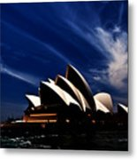 Abstract Of Sydney Opera House Metal Print