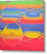 Abstract Oil And Water 7 Metal Print