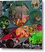 Abstract Painting - Chicago Metal Print