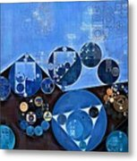 Abstract Painting - Endeavour Metal Print