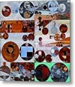 Abstract Painting - Heather Metal Print
