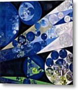 Abstract Painting - Lavender Gray Metal Print