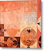 Abstract Painting - Mandys Pink Metal Print