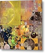 Abstract Painting - Pale Brown Metal Print