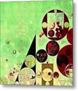 Abstract Painting - Reef Metal Print