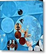 Abstract Painting - Spray Metal Print
