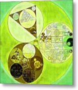 Abstract Painting - Sulu Metal Print