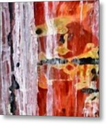 Abstract Painting Untitled #45 Metal Print