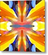 Abstract Paradise Metal Print