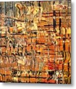 Abstract Part By Rafi Talby Metal Print