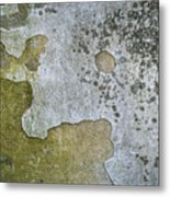 Abstract Pattern On The Wall Metal Print