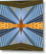 Abstract Photomontage N131v1 Dsc0965  Metal Print