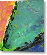 Abstract Piano 4 Metal Print
