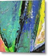 Abstract Piano 5 Metal Print