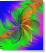 Abstract Pinwheel Metal Print