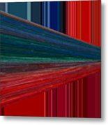 Abstract Pipeline Metal Print