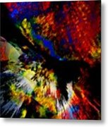 Abstract Pm Metal Print