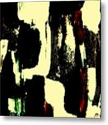 Abstract Quilt Metal Print
