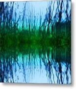 Abstract Reeds No. 1 Metal Print