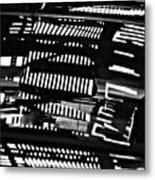 Abstract Reflection 4 Metal Print by Sarah Loft