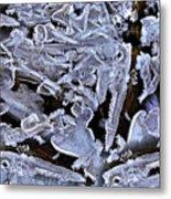 Abstract River 2 Metal Print