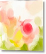 Abstract Roses Metal Print by Tom Gowanlock