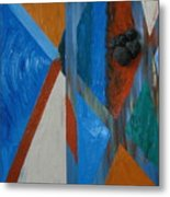 Abstract Space Metal Print