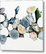 Abstract Stones 34 Metal Print