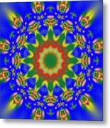 Abstract Sun 070908010102 Metal Print