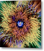 Abstract Swirl 01 Metal Print