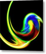 Abstract Tanager From The Amazonas Metal Print