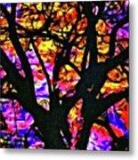 Abstract Tree 304 Metal Print