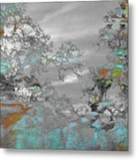 Abstract Tree Art 1 Metal Print