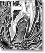 Abstract Tulip 2 Metal Print