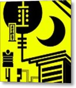 Abstract Urban 01 Metal Print