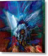 Abstract Visual Metal Print