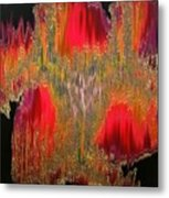 Abstract Visuals - The Sizzle Factor Metal Print