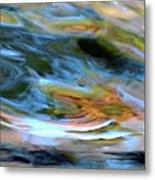 abstract water 2309DB Metal Print