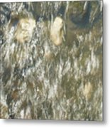 Abstract Water Art V Metal Print
